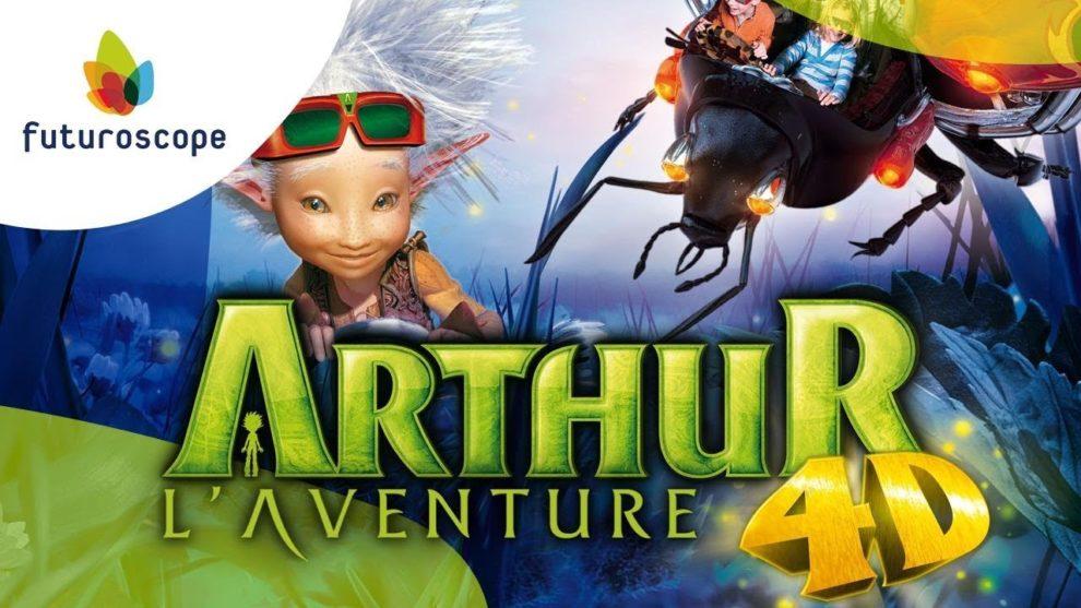 Arthur l'Aventure 4D du Futuroscope
