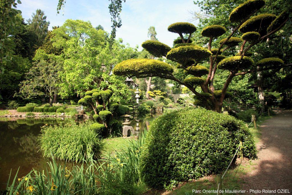 Parc oriental de Maulévrier en Vendée