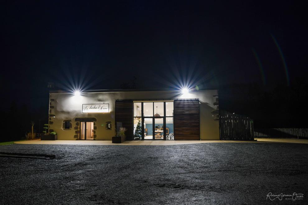 Chambre d'hotes éclairage nocturne